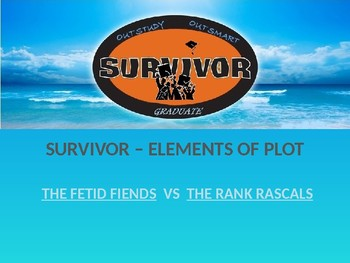 Survivor Game - Elements of Plot