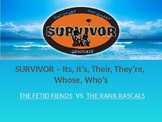 Survivor Game - Homophones