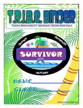 Survivor {Island} Binder Cover