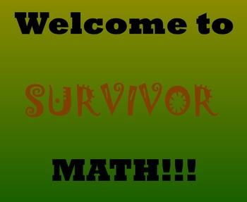 Survivor Math Banner