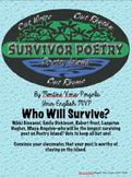 Survivor Poetry Unit--UPDATED