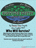 Survivor Poetry Unit--UPDATED