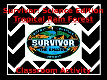 Survivor Rainforest Activity
