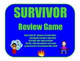 Survivor Review Game (For Any Subject)