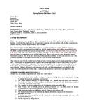 Susan Anker English Basic Skills / Essay Writing Syllabus