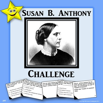 Susan B. Anthony Challenge Game
