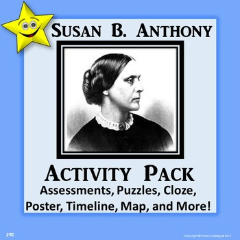Susan B. Anthony Activity Pack