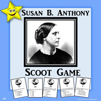 Susan B. Anthony Scoot Game