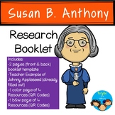 Susan B. Anthony-Historical Figure Research Booklet