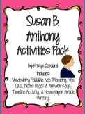 Susan B. Anthony Activities Pack