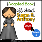 Susan B Anthony Adapted Book [Set of 2] | Famous Women in History