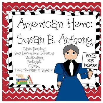 Susan B. Anthony: American Hero Unit