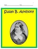 Susan B. Anthony BUNDLE- 3rd Grade Social Studies
