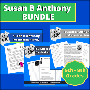 Susan B Anthony BUNDLE