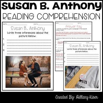 Susan B. Anthony Biography