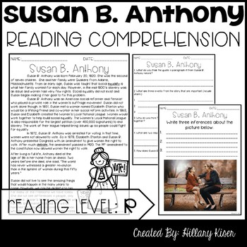 Susan B. Anthony Biography