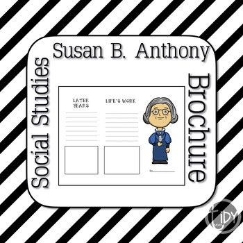 Susan B Anthony Brochure
