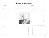 Susan B. Anthony Graphic Organizer