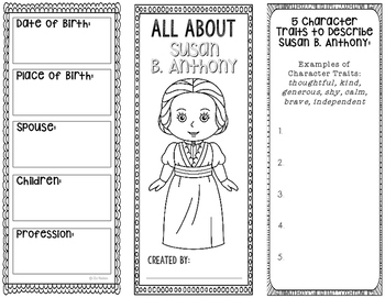 Quiz & Worksheet - Susan B. Anthony | Study.com