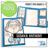 Susan B. Anthony Important People Research Lapbook