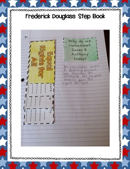 Susan B. Anthony Interactive Notebook