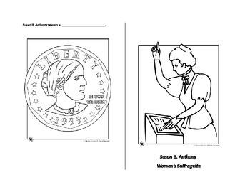 Susan B Anthony Mini Book SOL 2.11