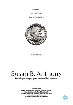Susan B. Anthony Mini Poster