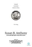 Susan B. Anthony Mini Poster