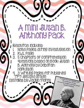 Susan B. Anthony Mini-pack