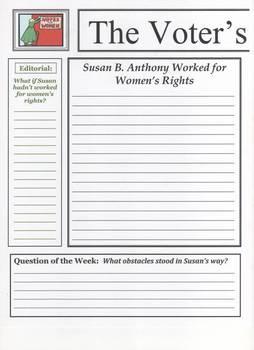 Susan B. Anthony Newspaper
