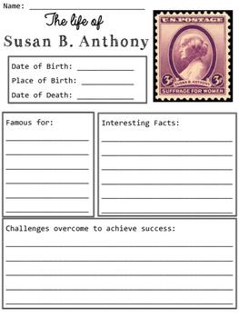 Susan B. Anthony Organizers