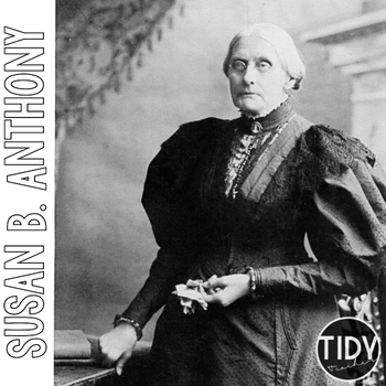 Susan B. Anthony Printables