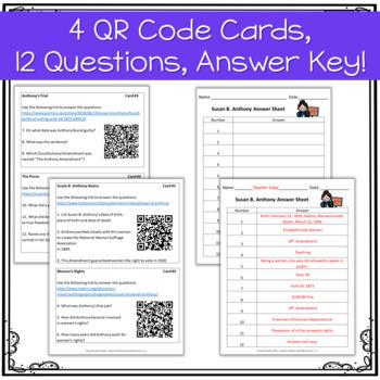 QR Code Quest: Susan B. Anthony