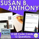 Susan B. Anthony QR Code Activity