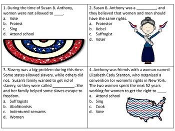 Susan B. Anthony Scoot- great for GA Milestone!