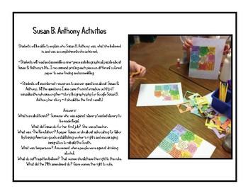 Susan B. Anthony - Cesar Chavez - #kindnessnation #weholdthesetruths