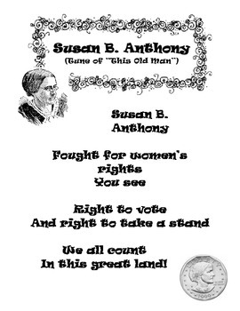 Susan B. Anthony Song