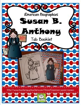 Susan B. Anthony Tab Booklet