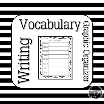 Susan B Anthony Vocabulary