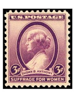 Susan B Anthony Word Search