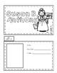 Susan B. Anthony Writing Tab Book