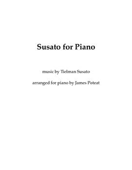 Susato for Piano