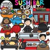 Sushi Bar Clipart {Sushi Clipart}