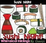 Sushi Night Clipart Collection