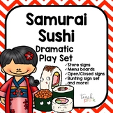 Sushi Restaurant Dramatic Play