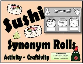 Sushi Synonym Rolls Synonym Activity, Center, and Display