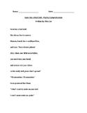 Susie Has a Bad Cold (Poetry Comprehension)