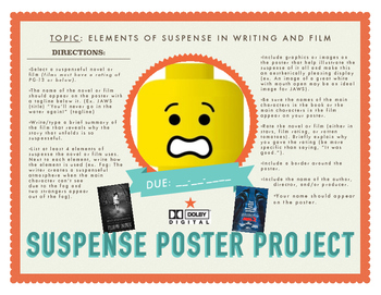 Suspense Poster Project: Film or Novel Student Project