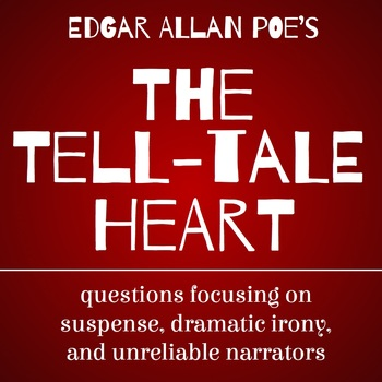 """Suspense Questions for Poe's """"The Tell-Tale Heart"""""""
