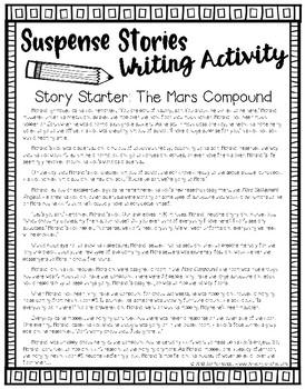 Suspense Stories: The Mars Compound